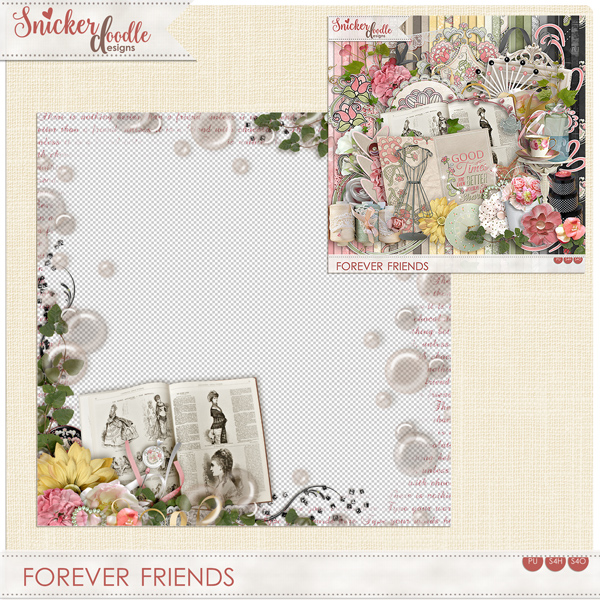 Forever Friends by SnickerdoodleDesigns FREEBIE