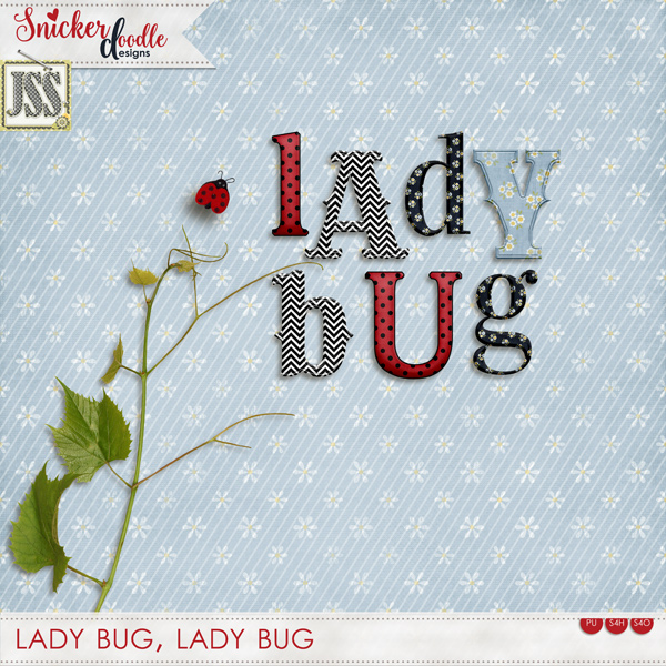 Lady Bug by SnickerdoodleDesigns