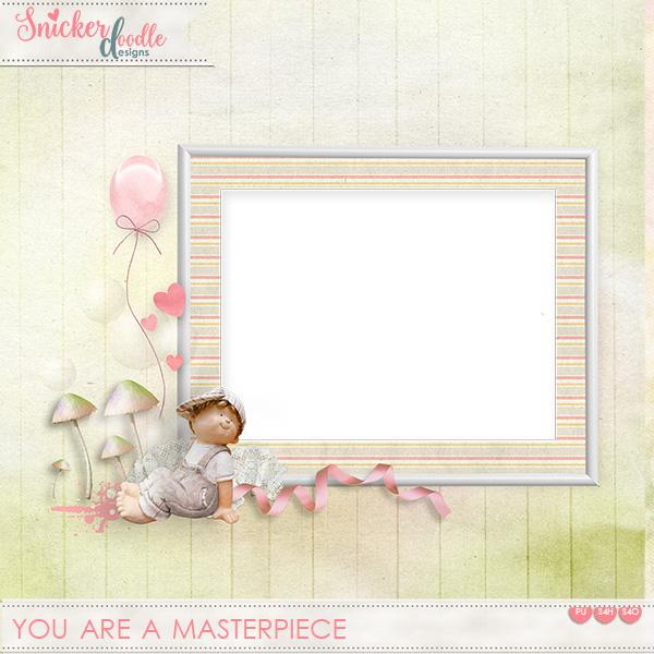 You Are a Masterpiece FREEBIE
