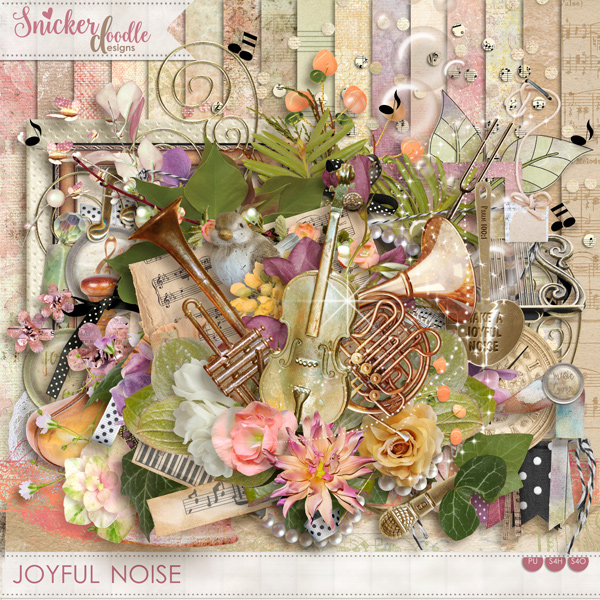 Joyful Noise by SnickerdoodleDesigns