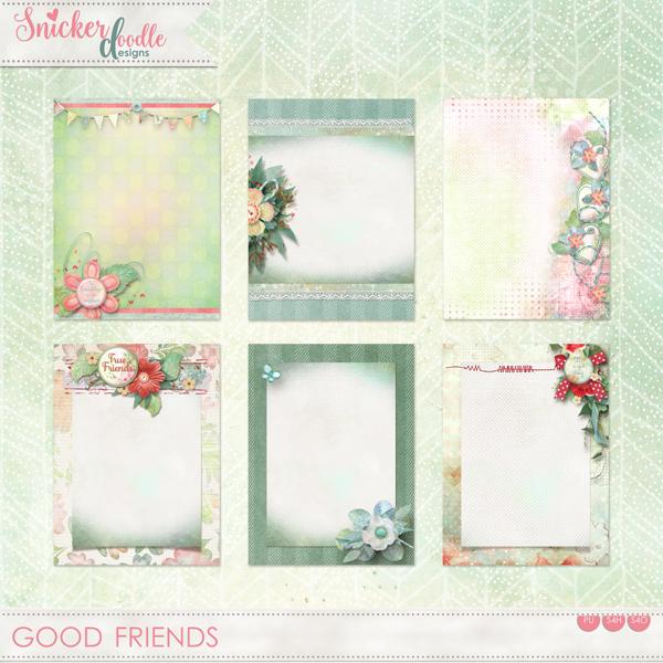 Good Friends SnickerdoodleDesigns