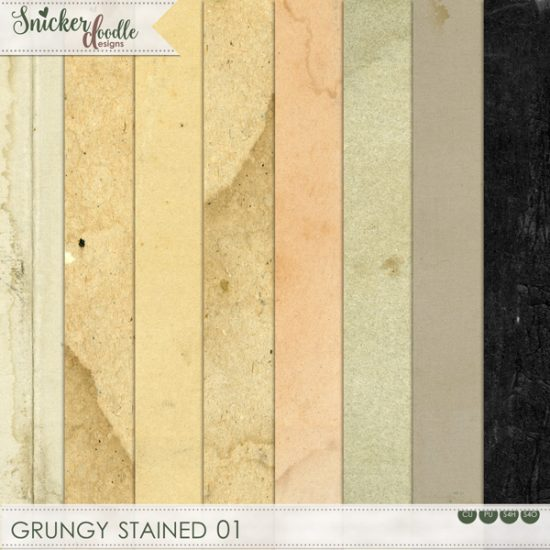 Grungy Stained Tutorial SnickerdoodleDesigns