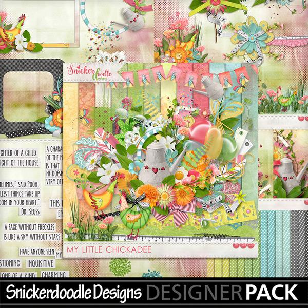 My Little Chickadee Freebie SnickerdoodleDesigns