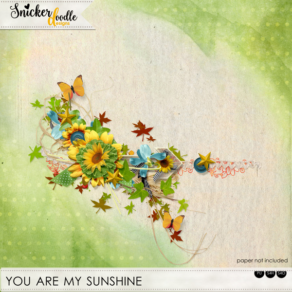 You are my sunshine SnickerdoodleDesigns FREEBIE
