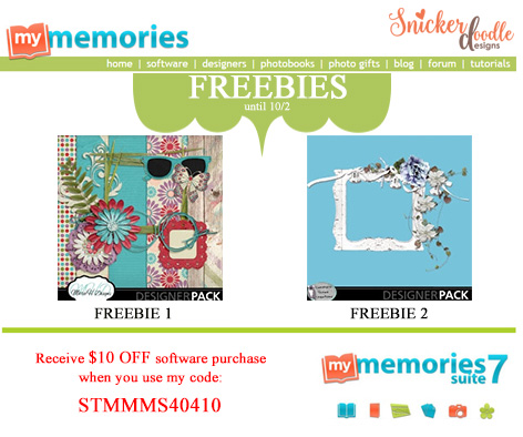 MyMemories Freebies SnickerdoodleDesigns