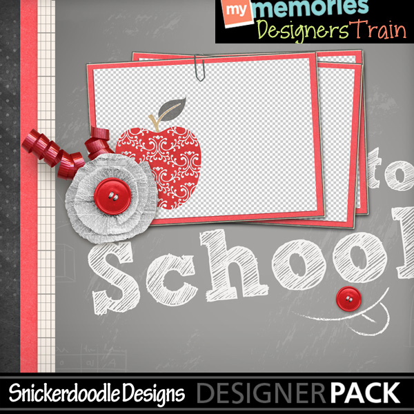 Back To School Freebie SnickerdoodleDesigns MyMemories