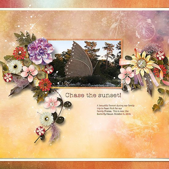 Harvest Sunset - Coordinated Collection by Snickerdoodle Designs HeartStringScrapArt-A Little Bit Arty 4dtemplate