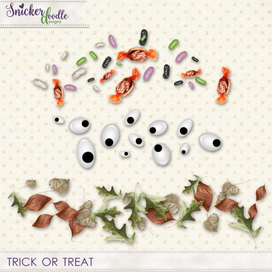Trick or Treat SnickerdoodleDesigns