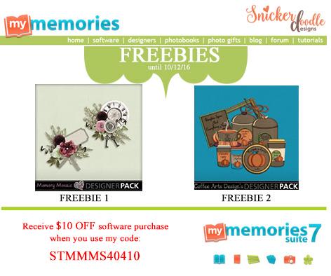MyMemories Freebie SnickerdoodleDesigns