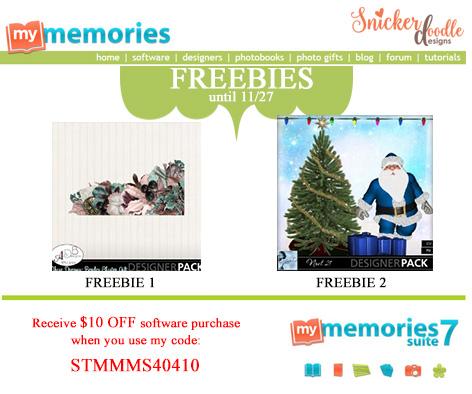 MyMemories Freebies SnickerdoodleDesigns