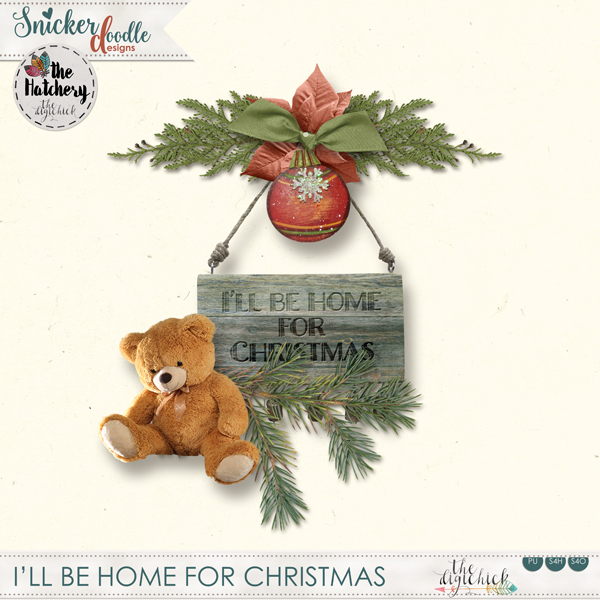 SnickerdoodleDesigns Christmas Freebie