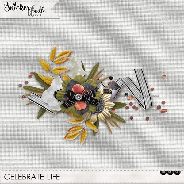 Freebie Celebrate Life SnickerdoodleDesigns