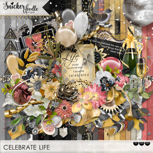 Celebrate Life SnickerdoodleDesigns