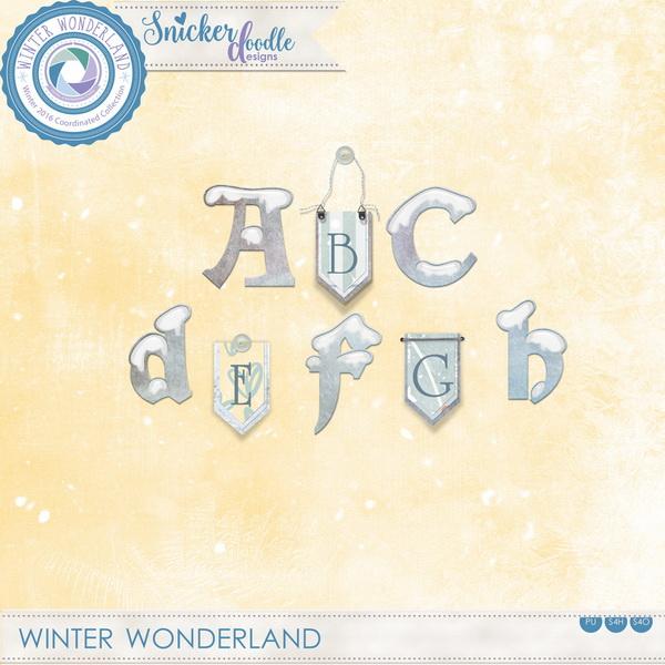 Winter Wonderland SnickerdoodleDesigns