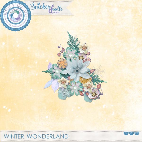 Winter Wonderland Freebie SnickerdoodleDesigns