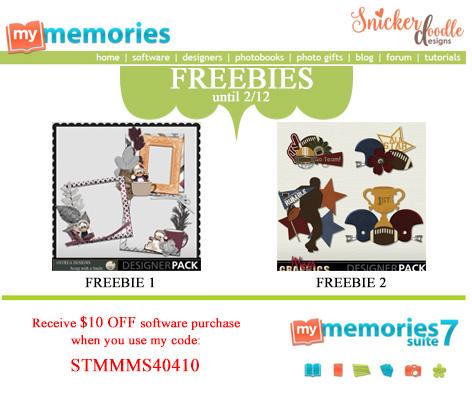 Freebies MyMemories
