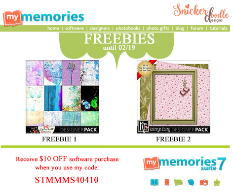 Freebies MyMemories SnickerdoodleDesigns