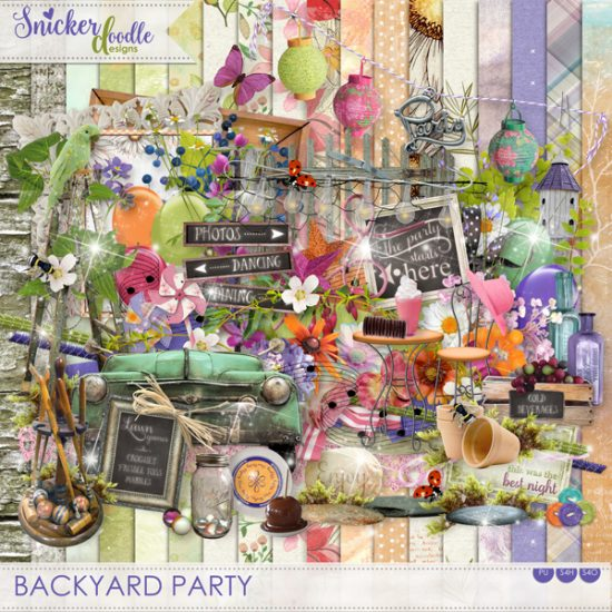 Backyard Party SnickerdoodleDesigns