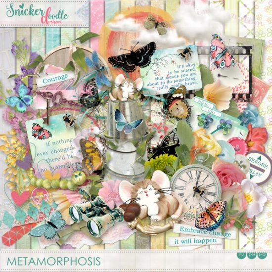 Metamorphosis SnickerdoodleDesigns