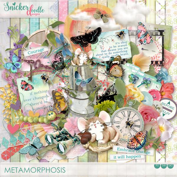 Metamorphosis SnickerdoodleDesigns