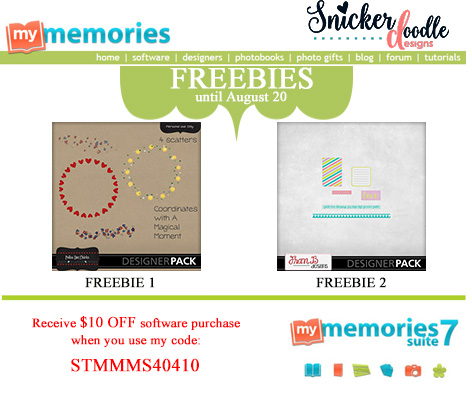 SnickerdoodleDesigns Freebie MyMemories