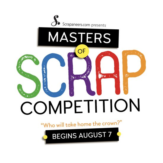 Scrapaneers Digital Design Contest