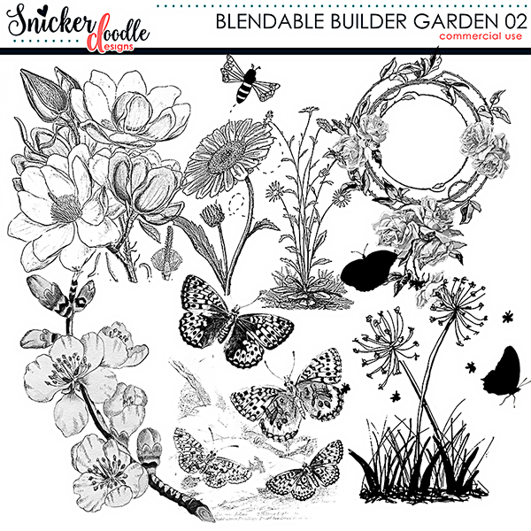 SnickerdoodleDesigns Blendable Builders Garden 02