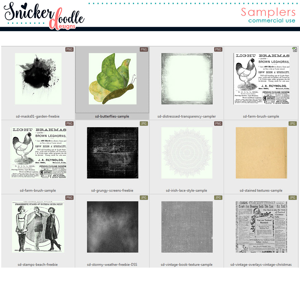 Freebies SnickerdoodleDesigns