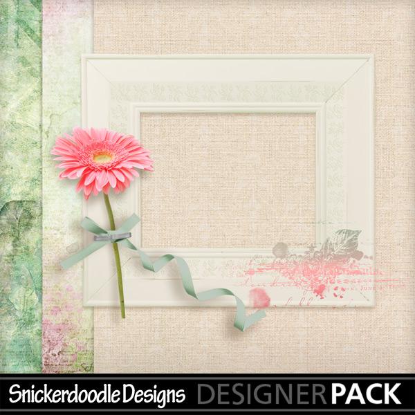 Digital scrapbooking freebie SnickerdoodleDesigns