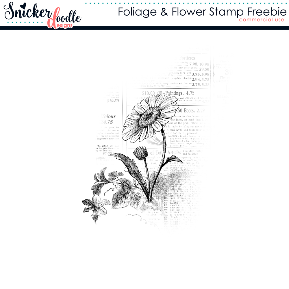 digital scrapbooking freebie SnickerdoodleDesigns