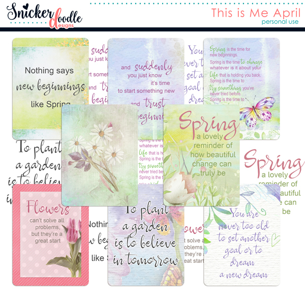 digital scrapbooking snickerdoodledesigns