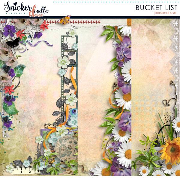Bucket List SnickerdoodleDesigns