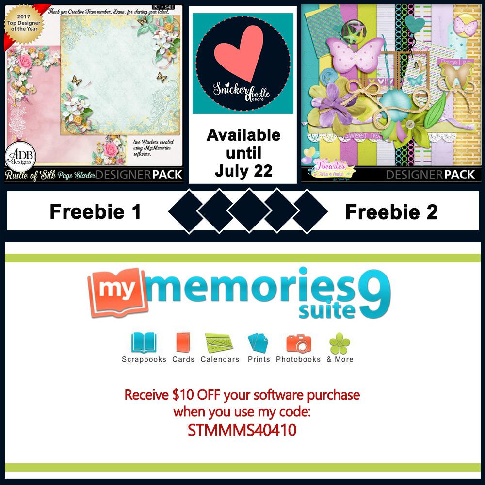 MyMemories Freebie July 22