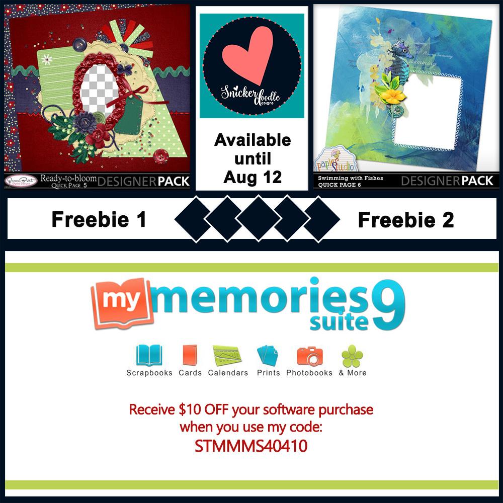 MyMemories digital scrapbooking freebie