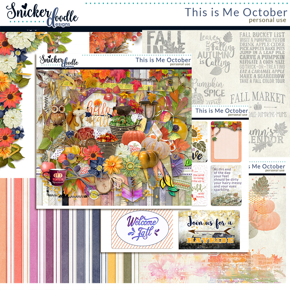 This is Me October by Snickerdoodle Designs