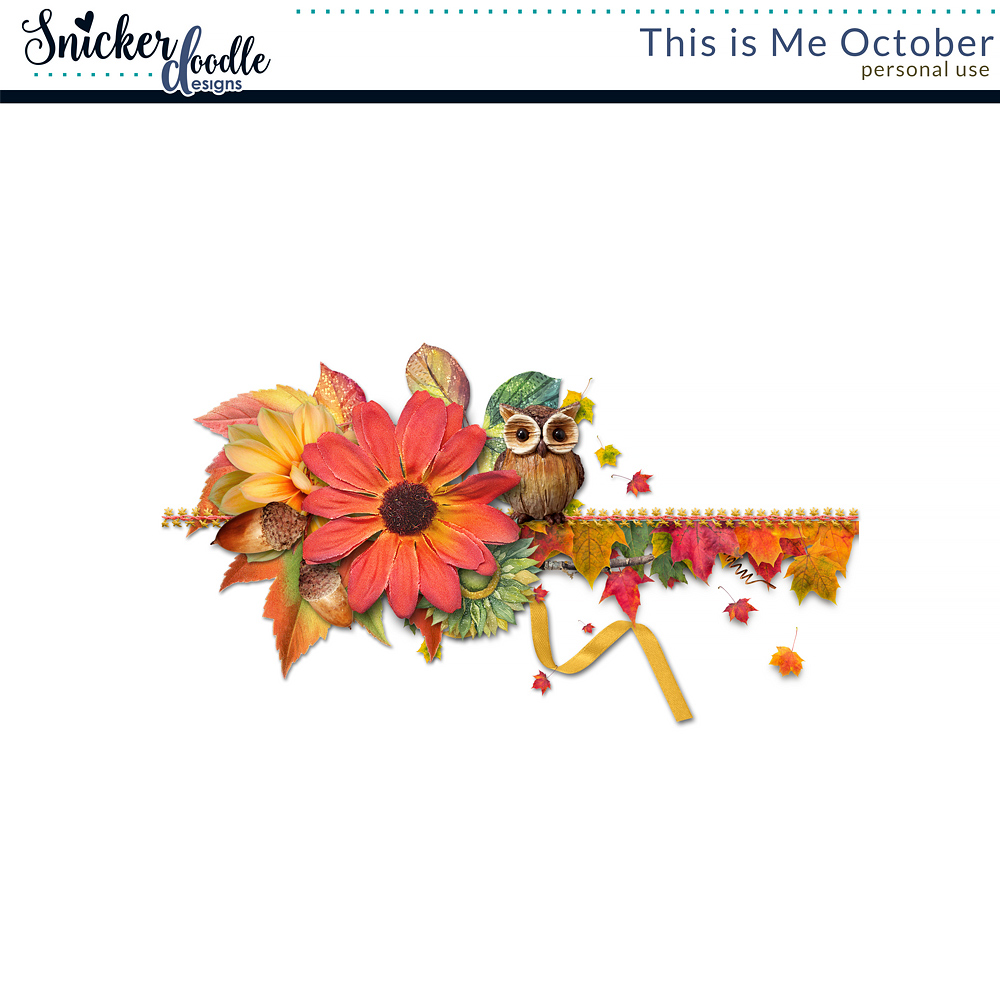 This is Me - October and a Freebie