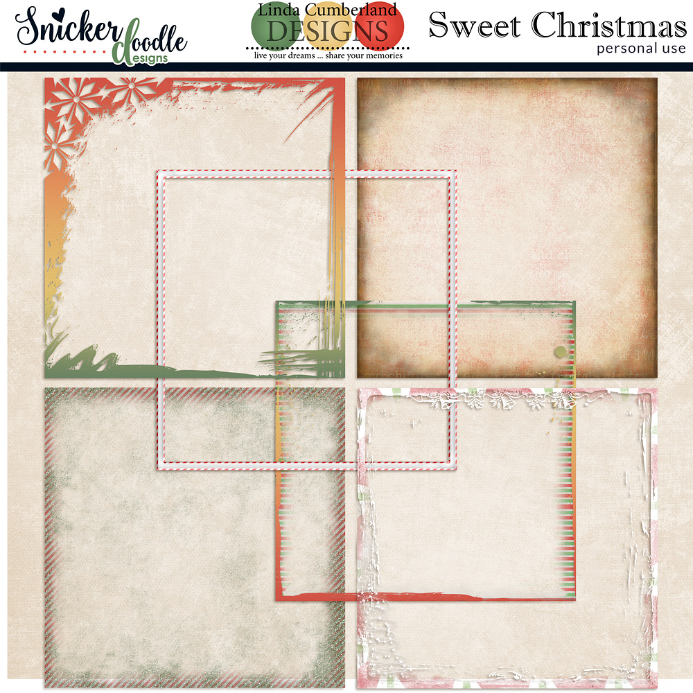 Sweet Christmas by Snickerdoodle Designs