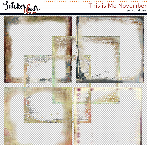 This is Me November by Snickerdoodle Designs