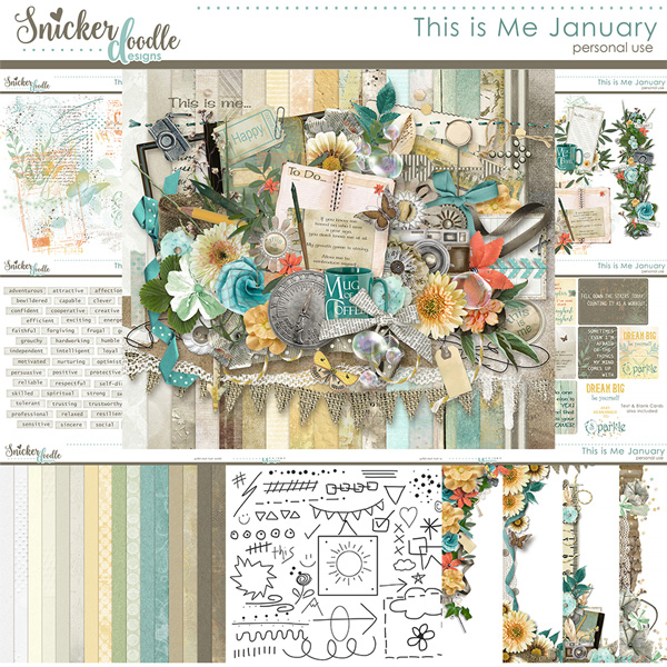 s is Me January by Snickerdoodle Designs