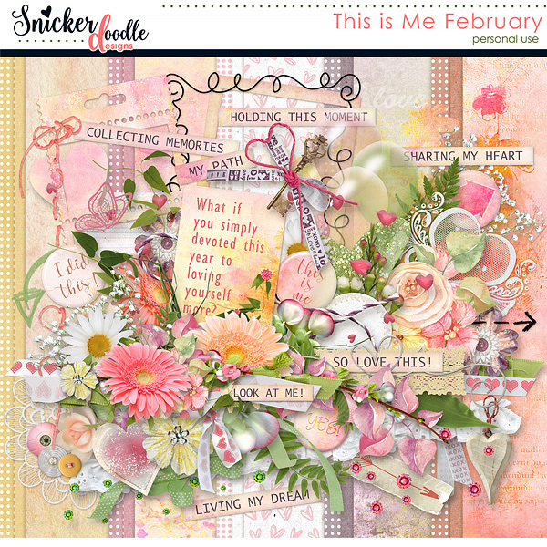 This is me February by Snickerdoodle Designs