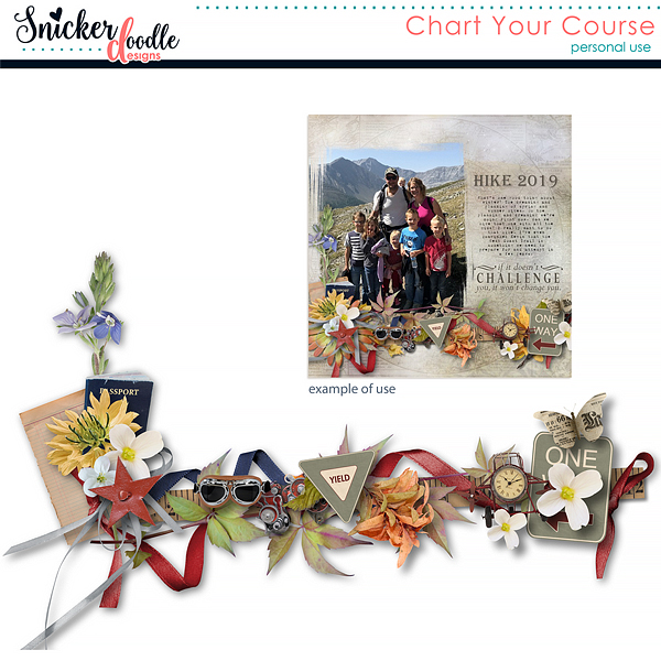 Chart YOur Course by Snickerdoodle Designs