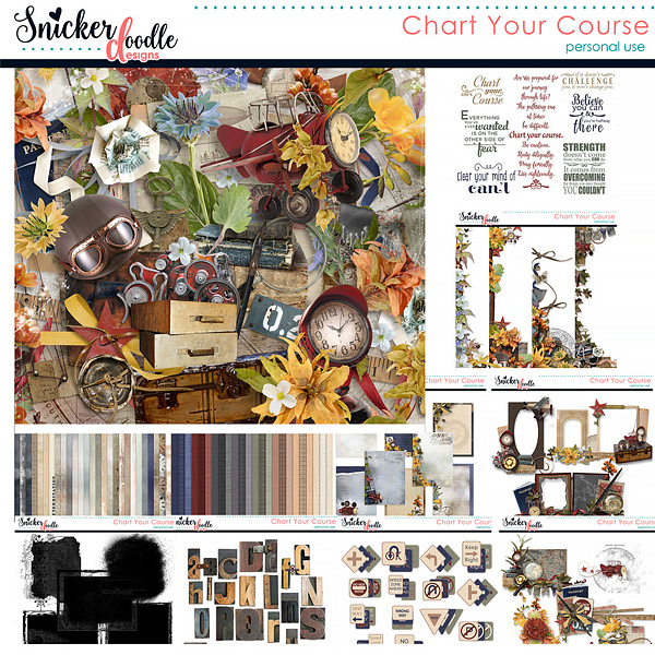 Chart Your Course Snickerdoodle Designs