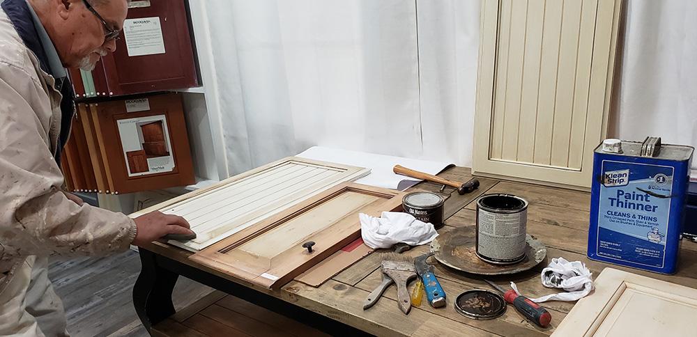 Refinishing Cabinets