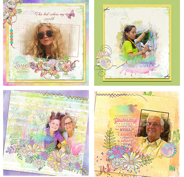 You Color by World Digital Scrapbook Kit by Snickerdoodle Designs-2