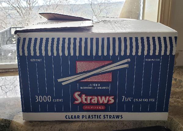 Plastic Straws Snickerdoodle Designs