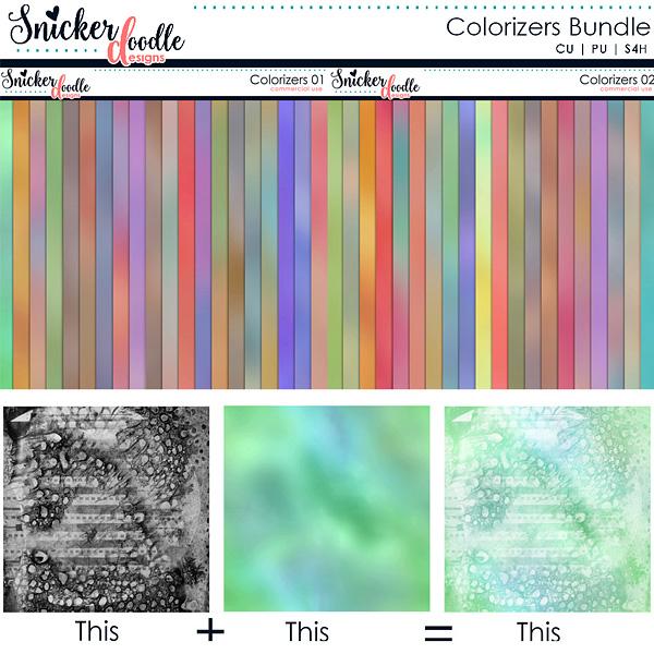 Colorizers Bundle by Snickerdoodle Designs
