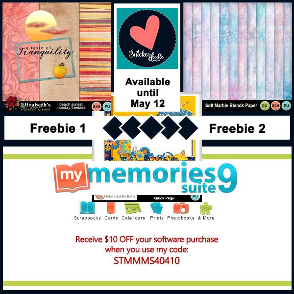 digital scrapbooking freebie May 12