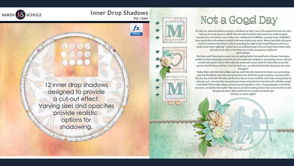 How to Use Inner Drop Shadows