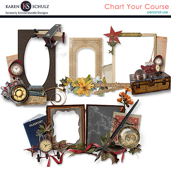 Chart Your Course Cluster Frames
