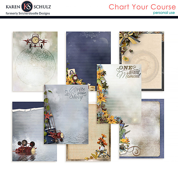 Chart Your Course Journal Cards